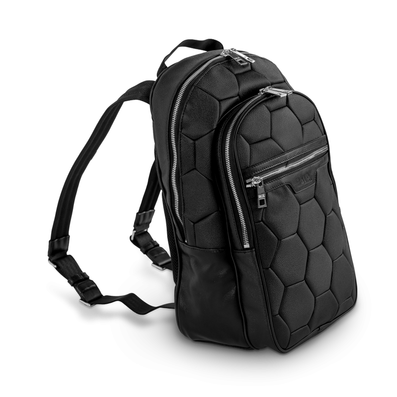 BALR. Black Backpack Side