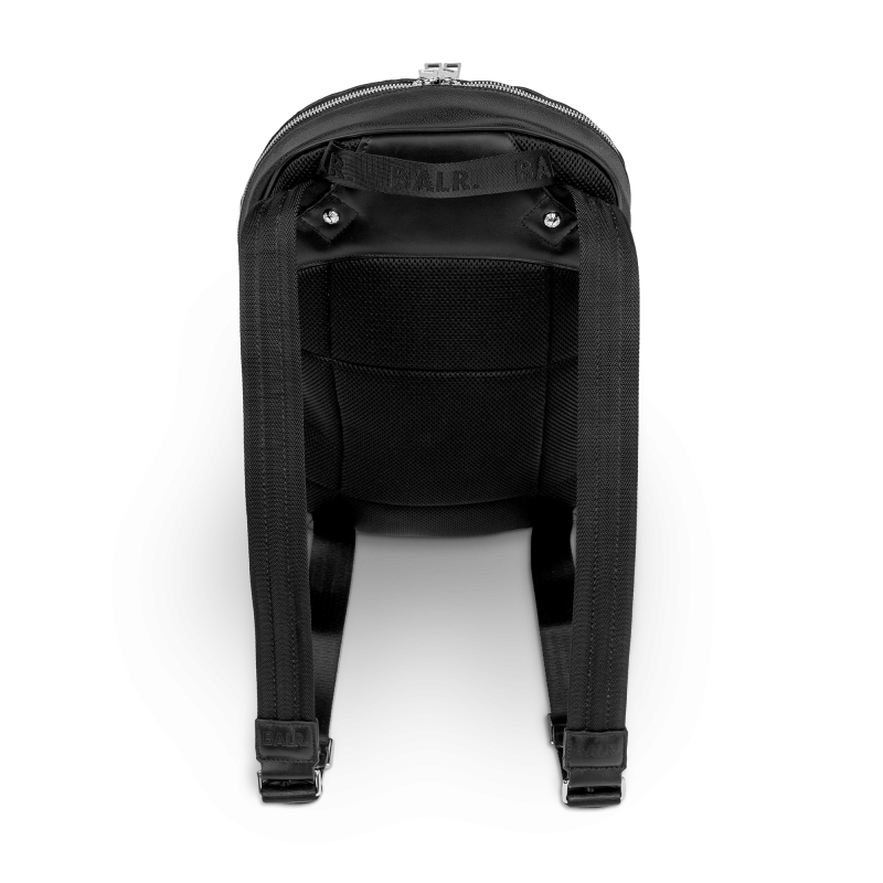BALR. Black Backpack Back