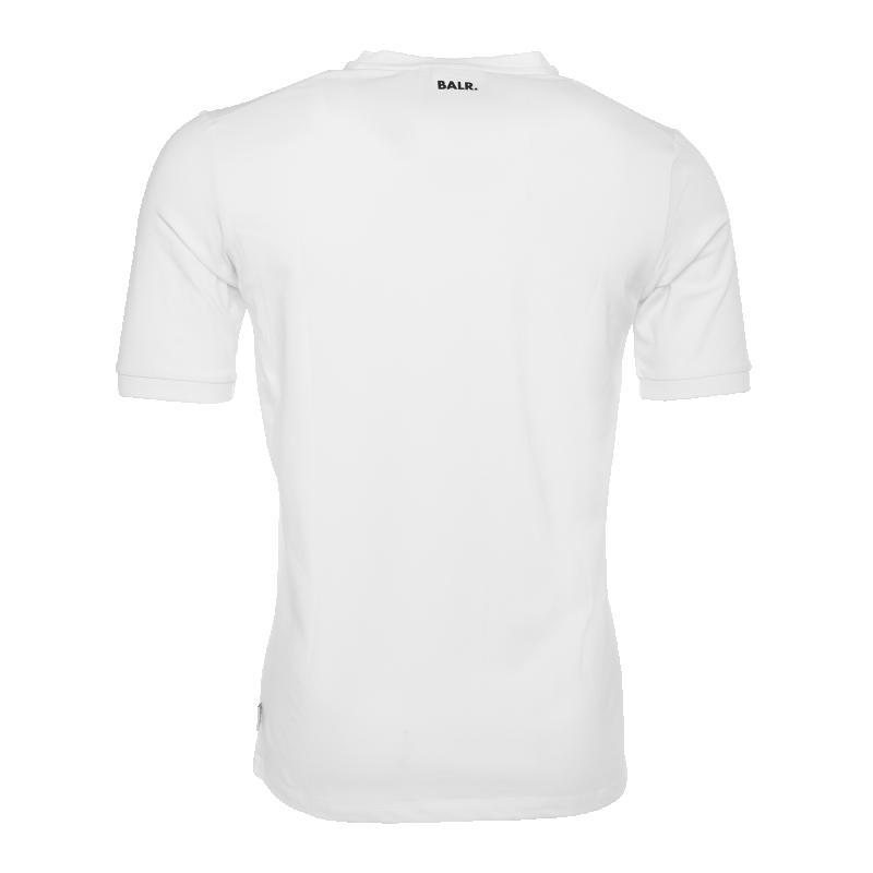 V-Neck Shirt White Back