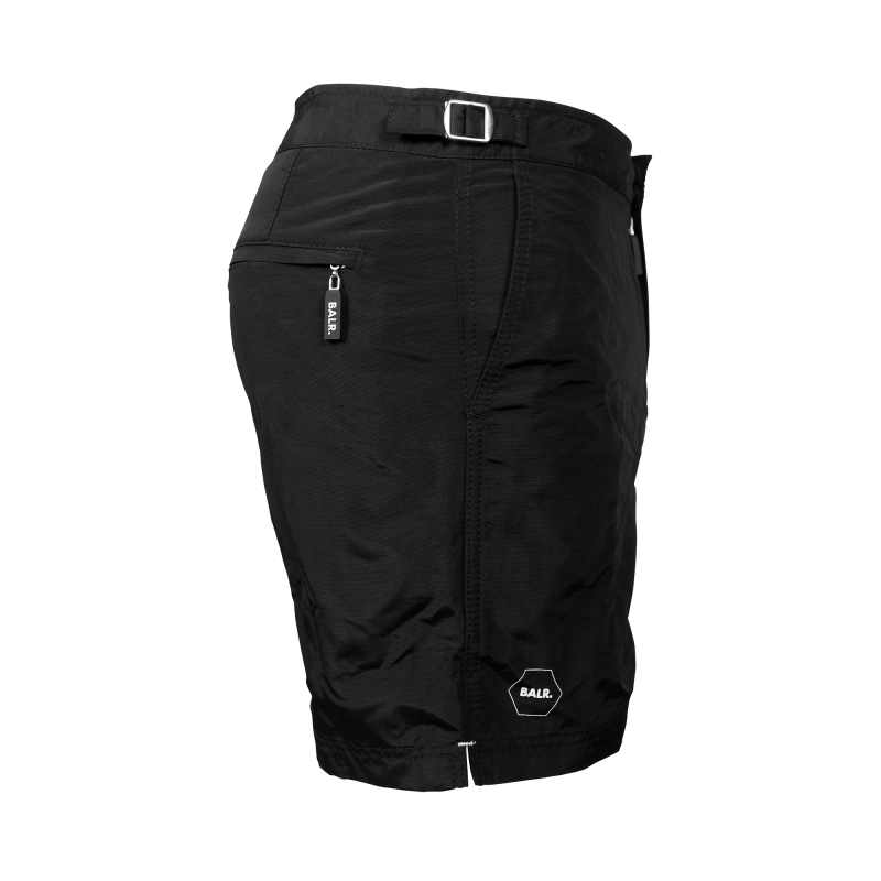 Tailored Mid-Length Swim Shorts Side