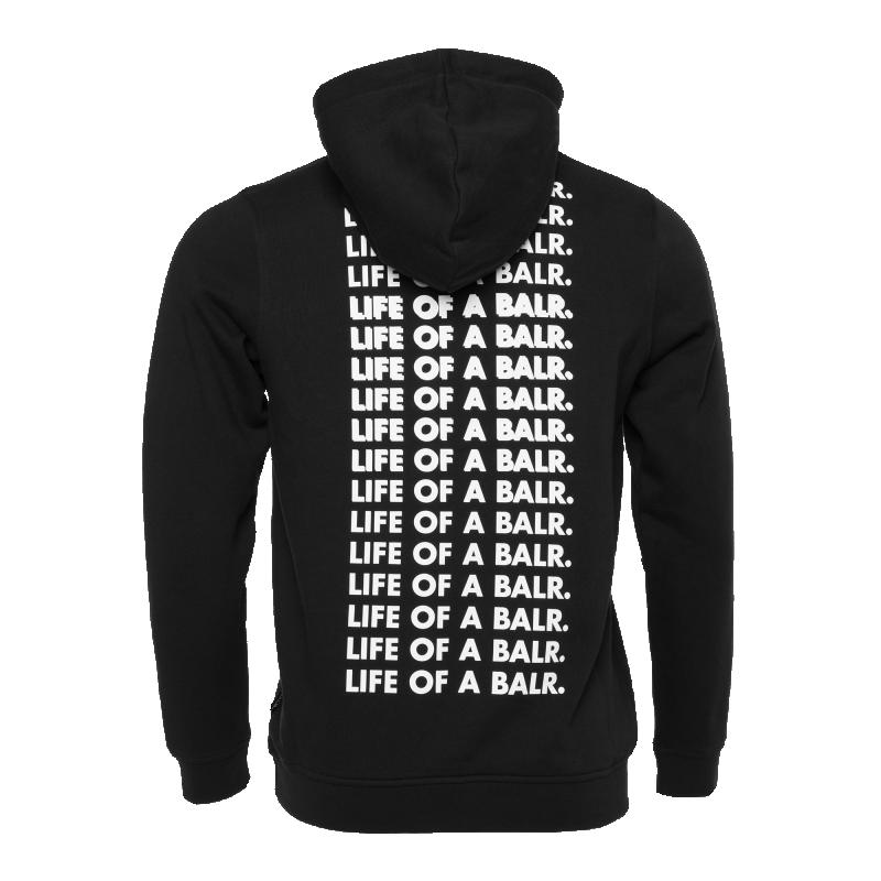 Life Of A BALR. Hoodie Black