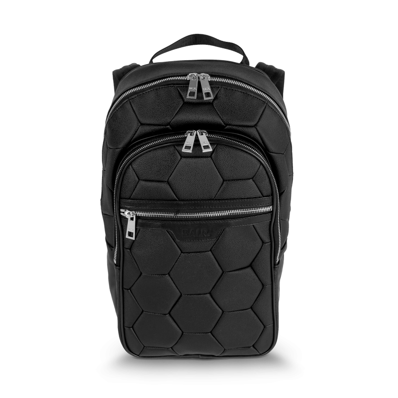 BALR. Black Backpack Front