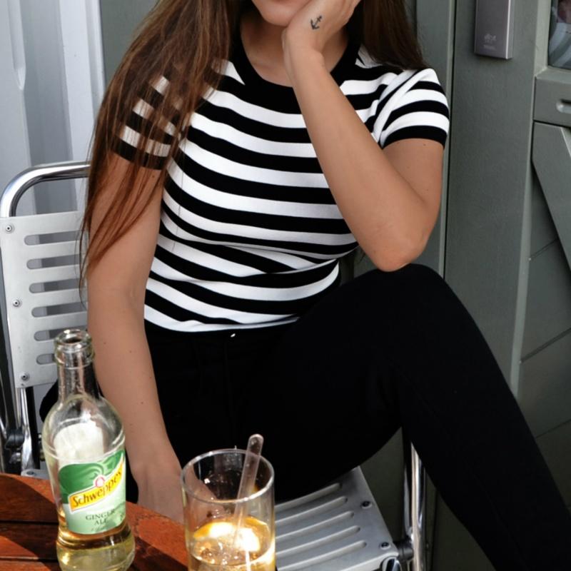 Striped Shirt Lifestyle