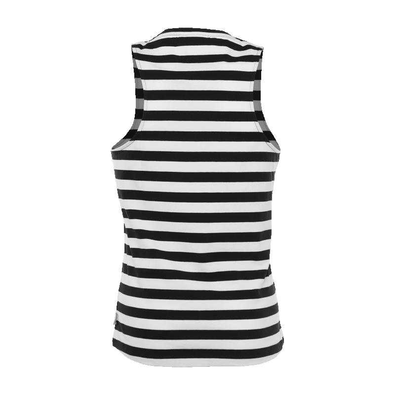 Striped Singlet Back