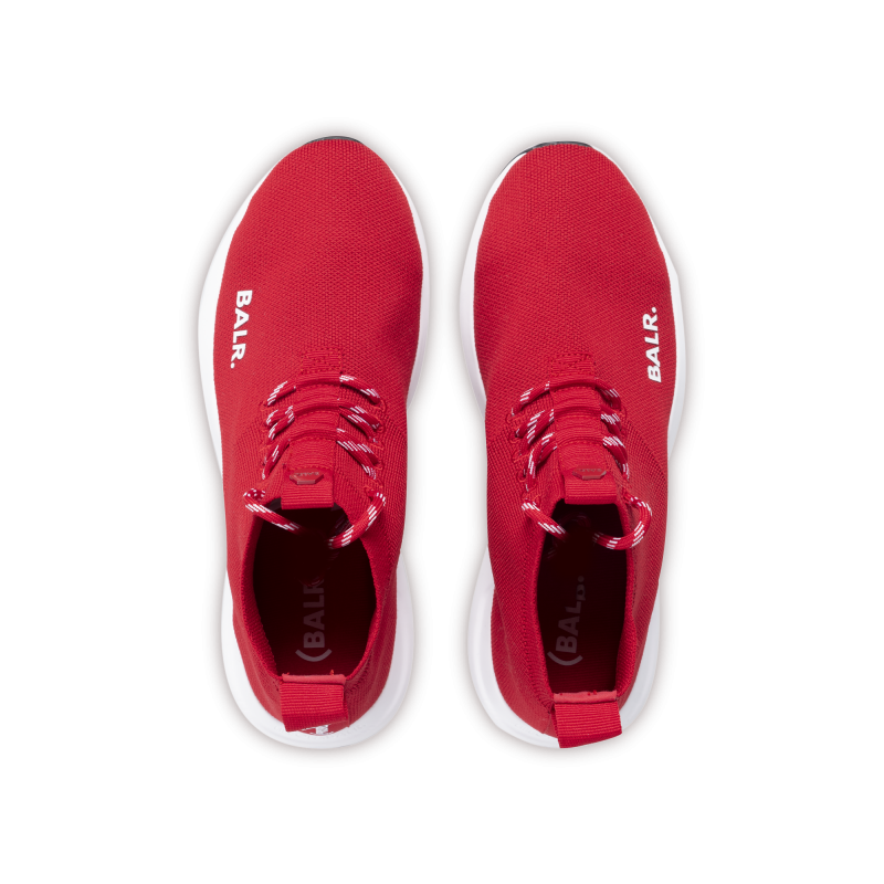 BALR. (BALR.)RED EE Premium Sock Sneakers V2 Red Up
