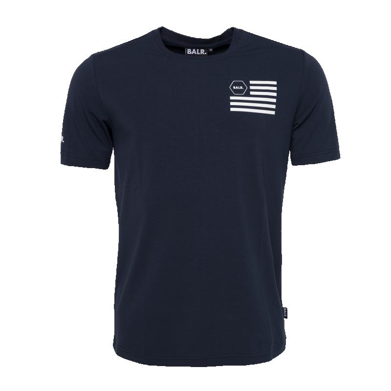 U.S. Of BALR. T-Shirt Navy Blue