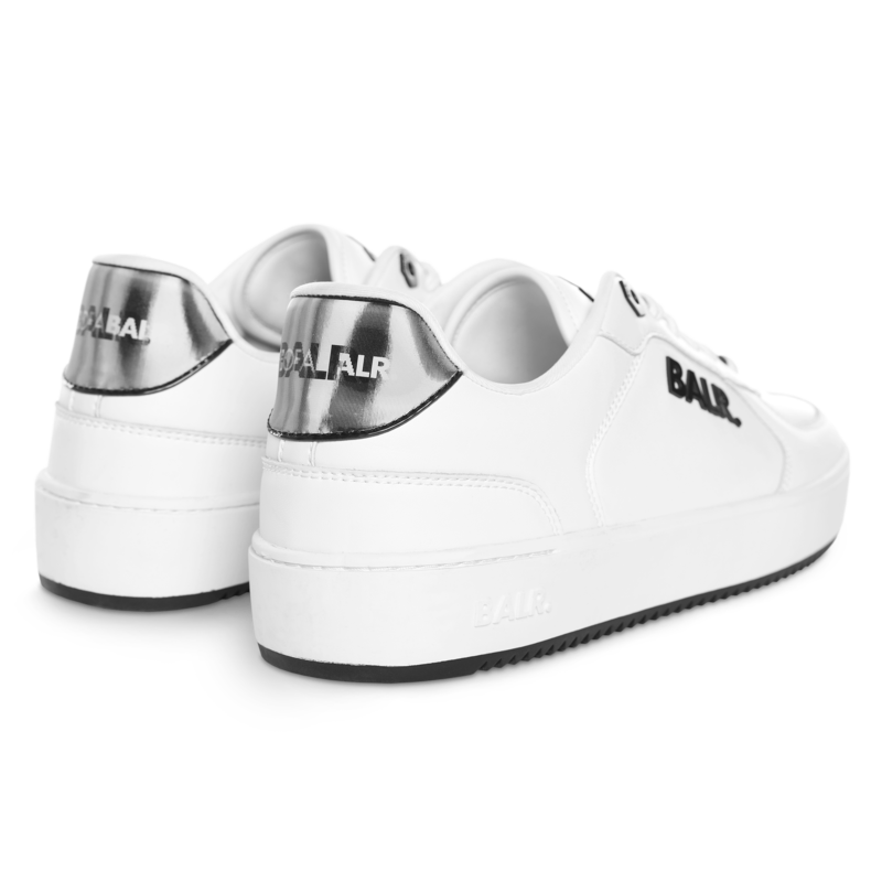 BALR. Royal Mid Sneaker White 3D