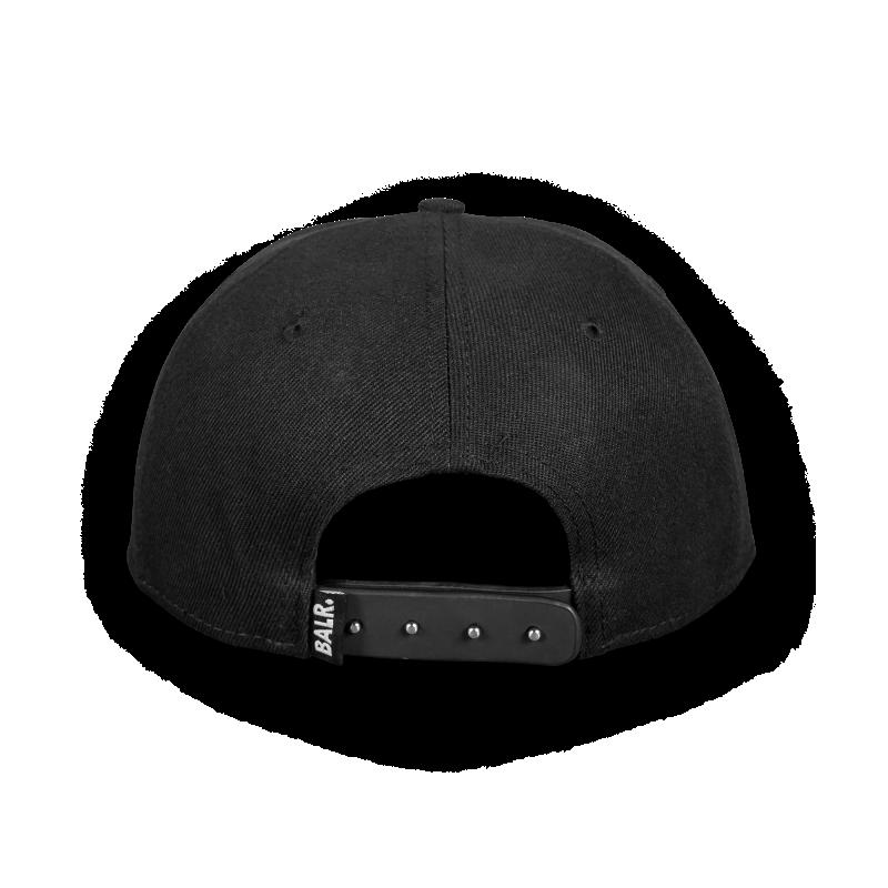 Brand Cotton Cap Black Back