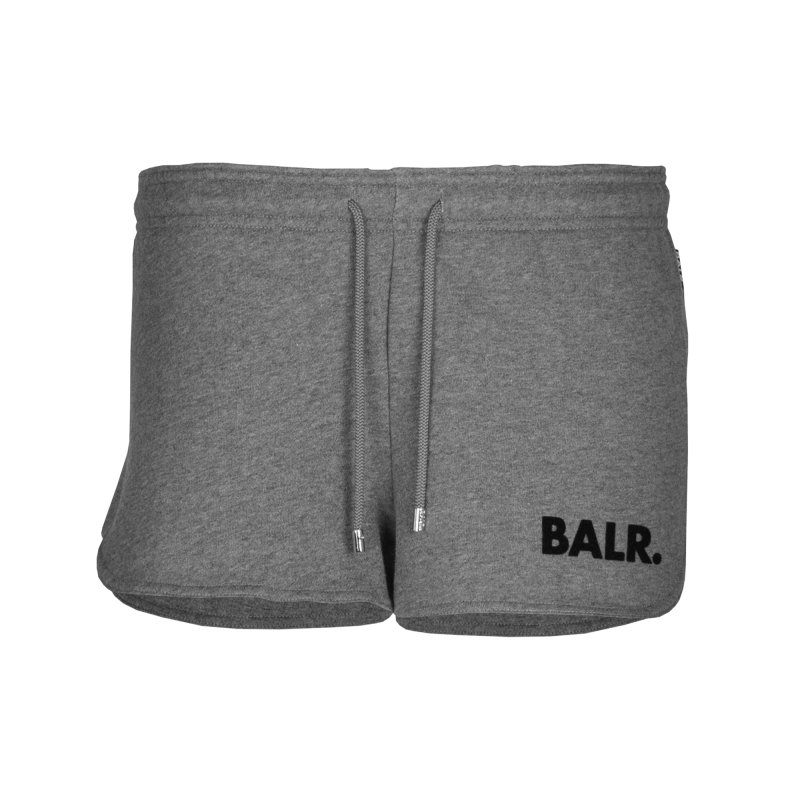 Women Sweatshorts Grey Front