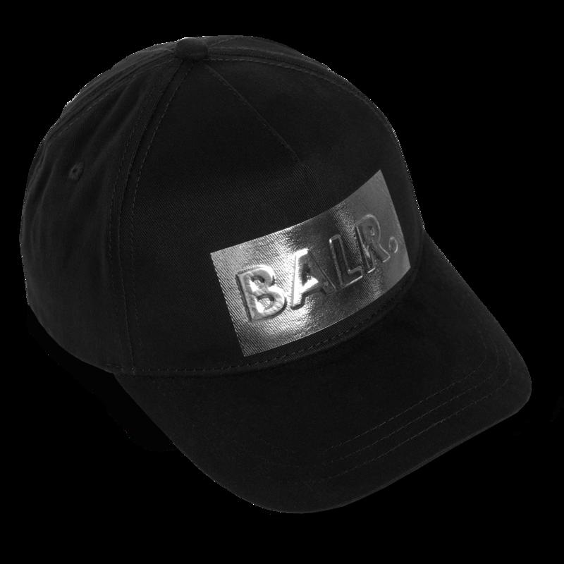 Silver Club Cap Black