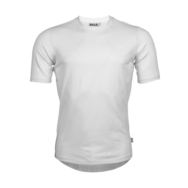 White Signature Panel Shirt Front