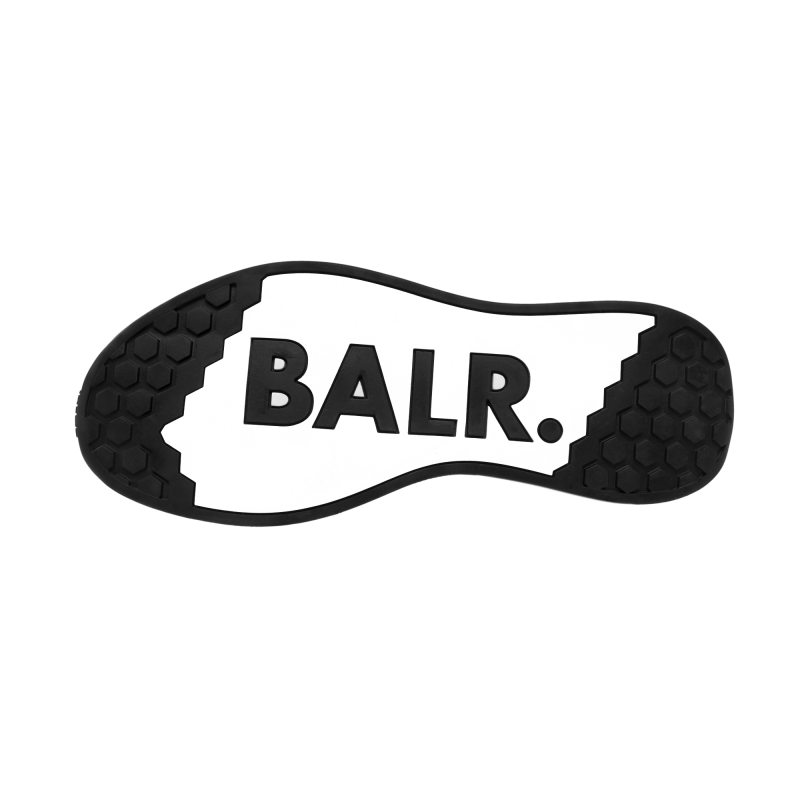 BALR. (BALR.)RED EE Premium Sock Sneakers V2 Red Under