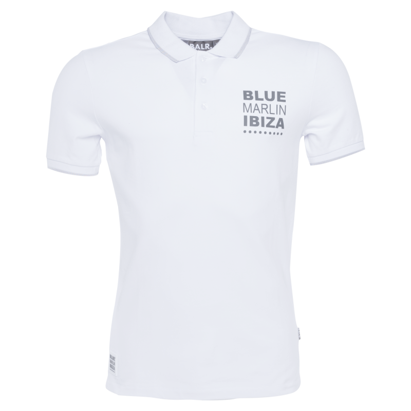 BALR. x BMI Polo Shirt White