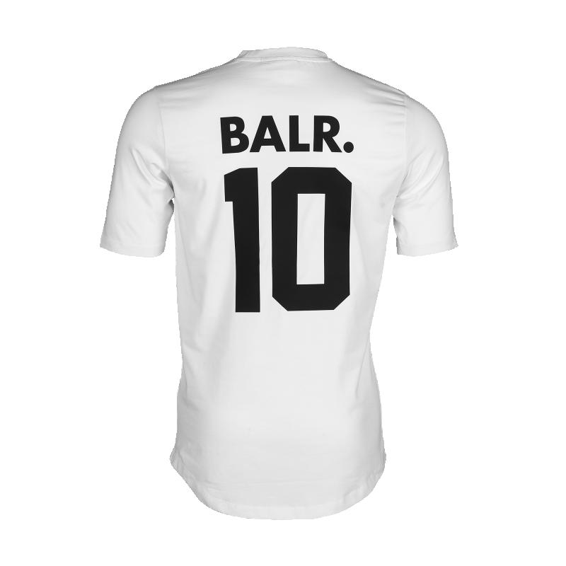 White BALR. 10 Shirt Back