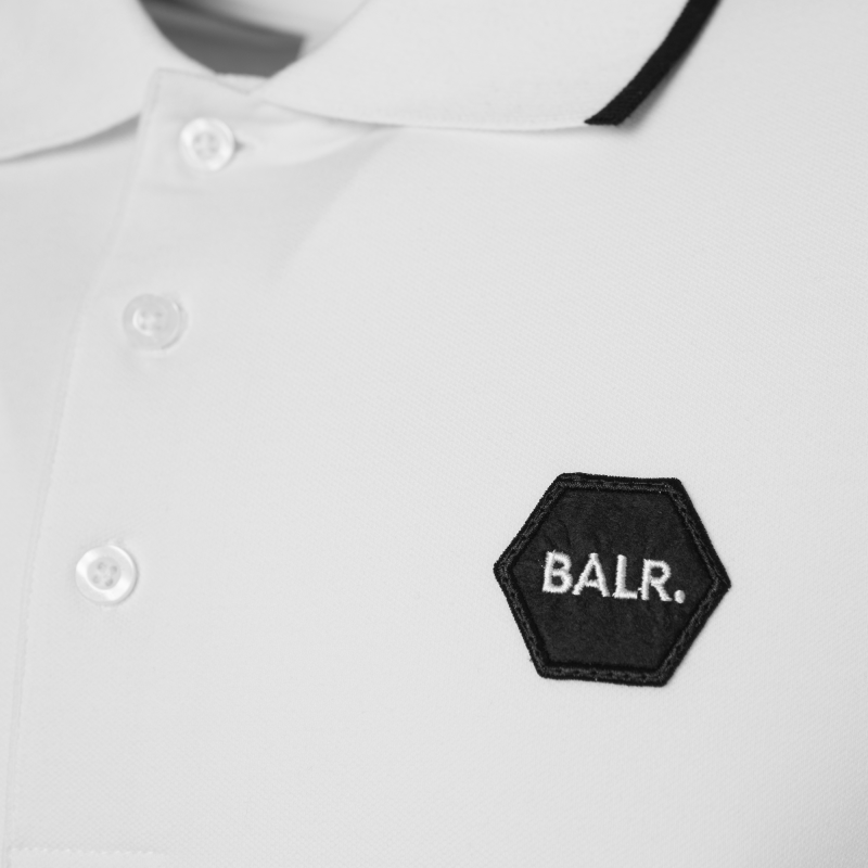 White Badge Polo Logo