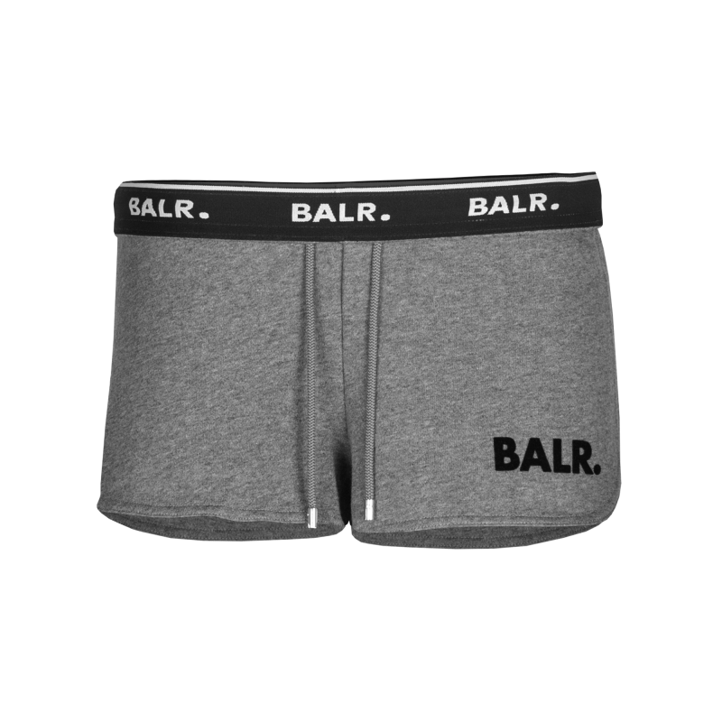 Women Sweatshorts Grey Band