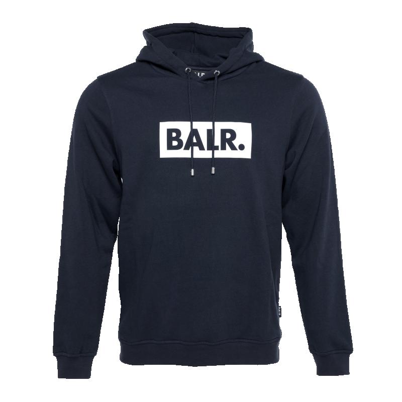 BALR. Club Hoodie Navy Blue