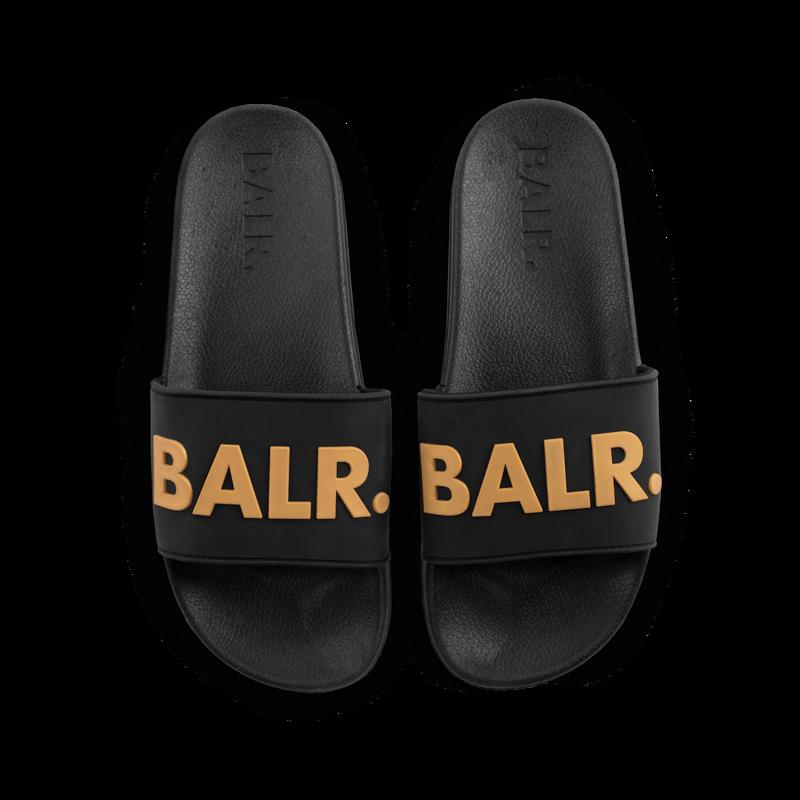 BALR. Slider Black and Gold