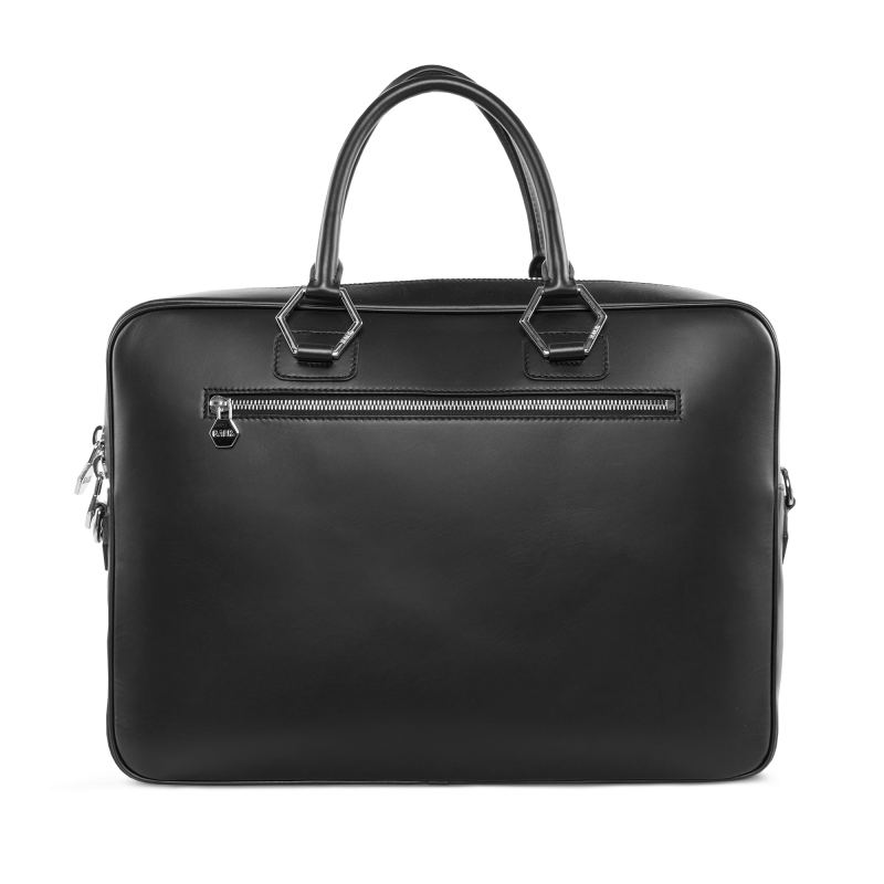 BALR. Leather Men's Bag Voorkant Achterkant