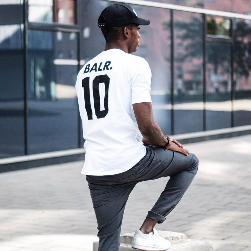 White BALR. 10 Shirt Lifestyle