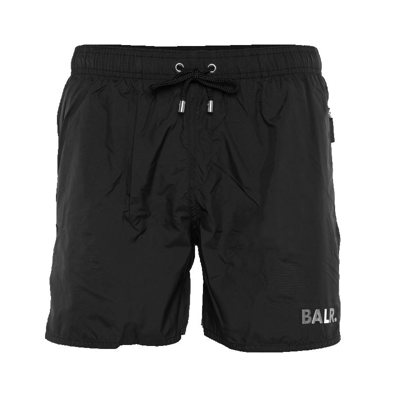 Black Classic Swim Shorts Front