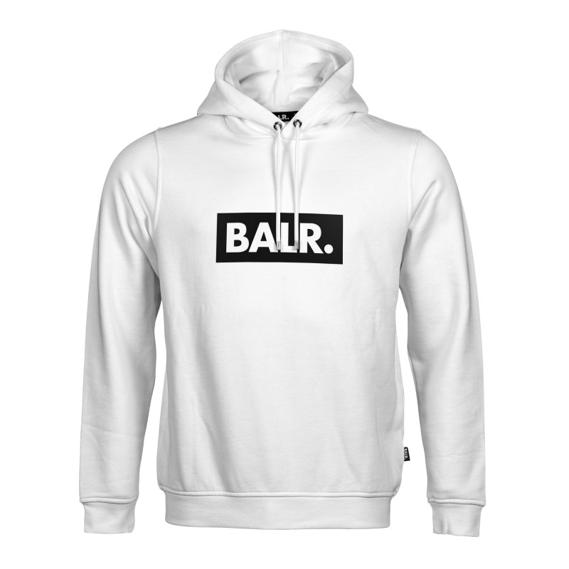 BALR. Club Hoodie White Front