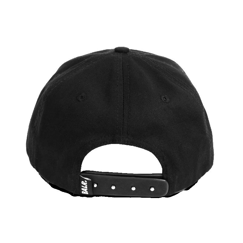 Women Classic Cotton Cap Black On Black Back