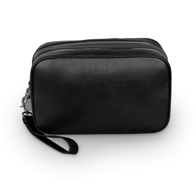Leather Toiletry Kit Side