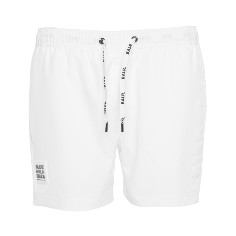 BALR. x BMI Swim Shorts White