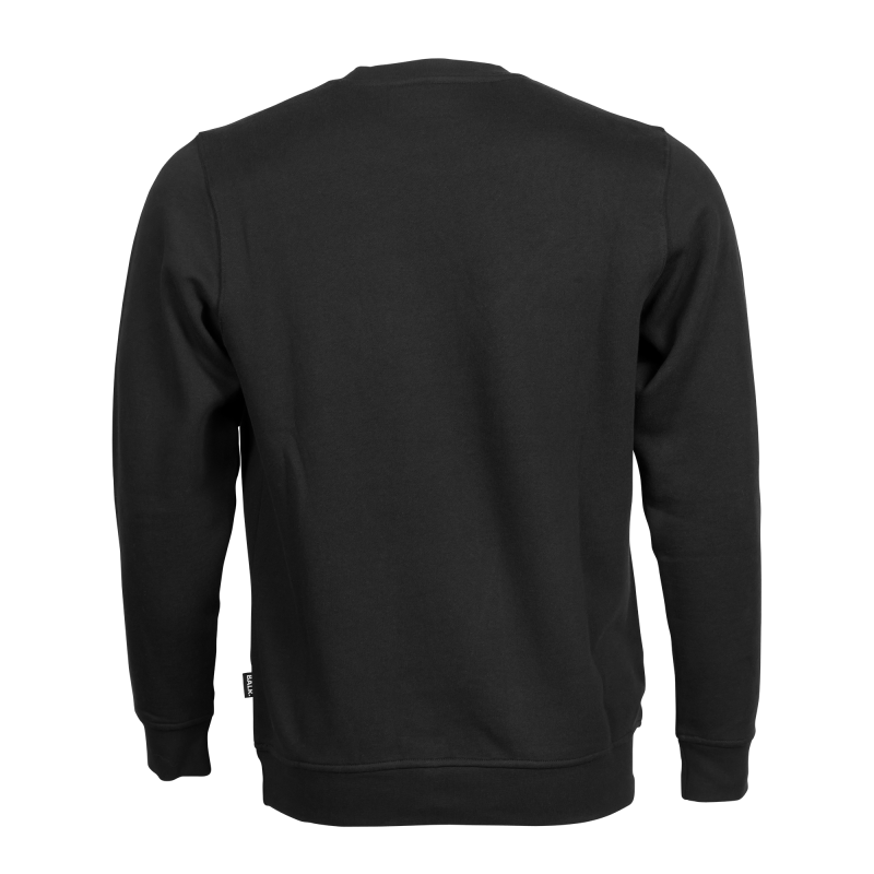 BALR. Black Crew Neck Club Sweater Back