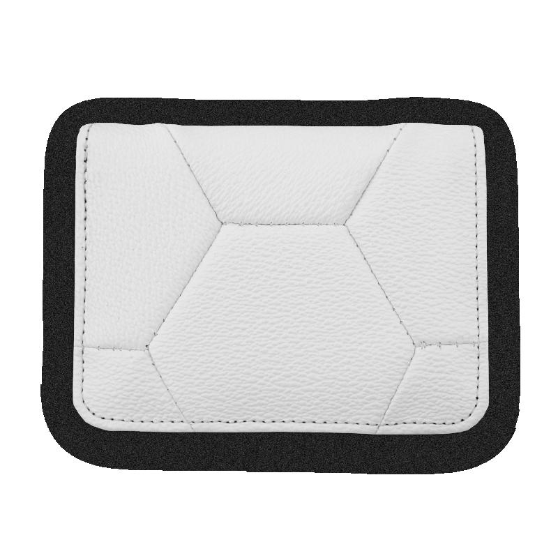 White Cardholder Front
