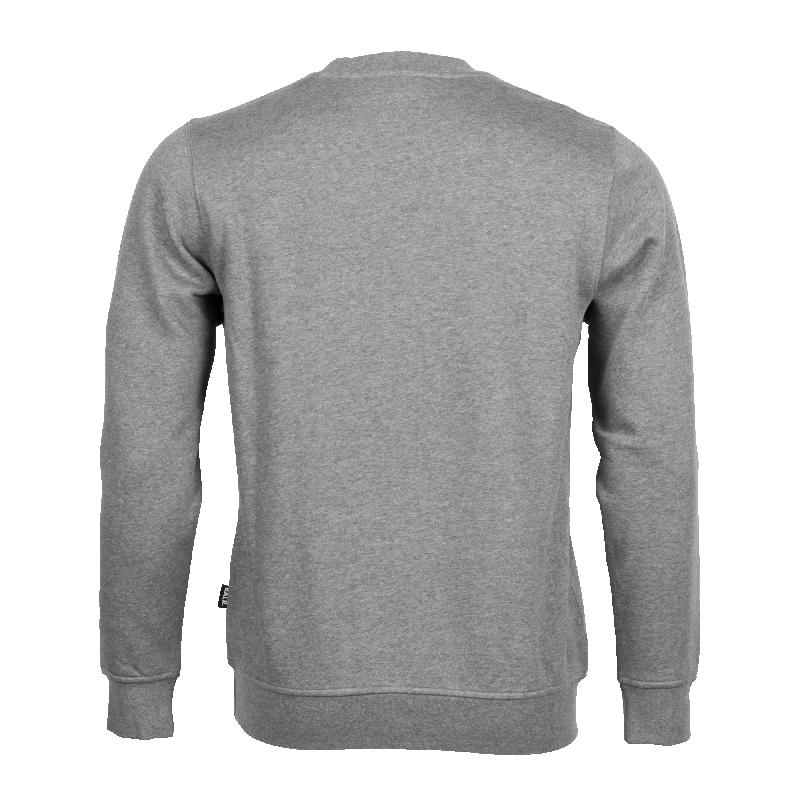 Brand Crew Neck Grey Back