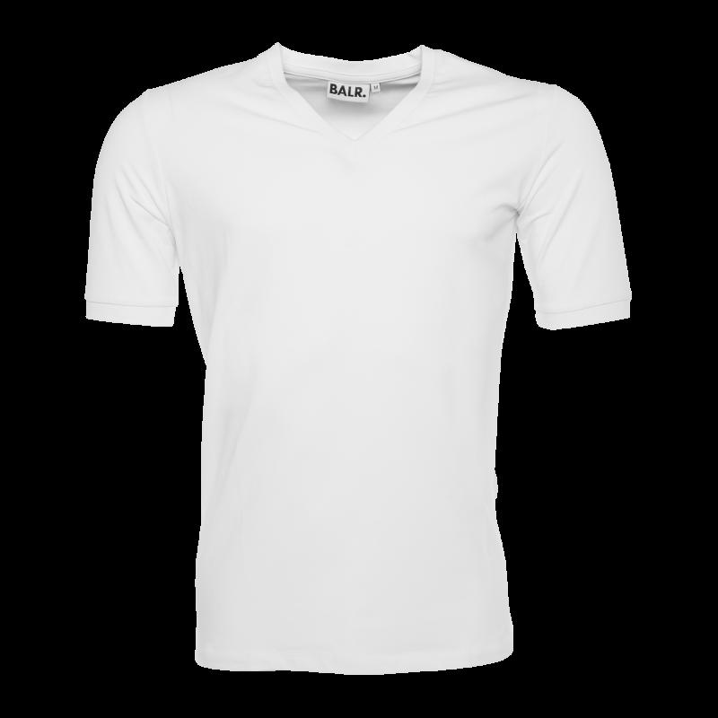 V-Neck Shirt White