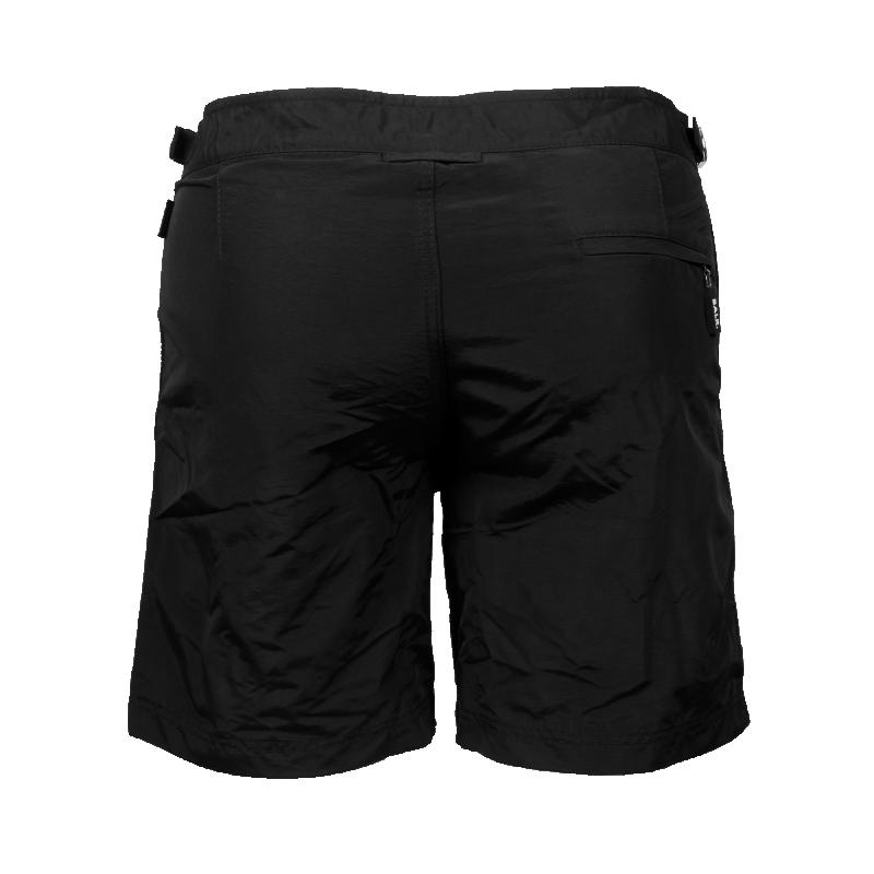Tailored Mid-Length Swim Shorts Back