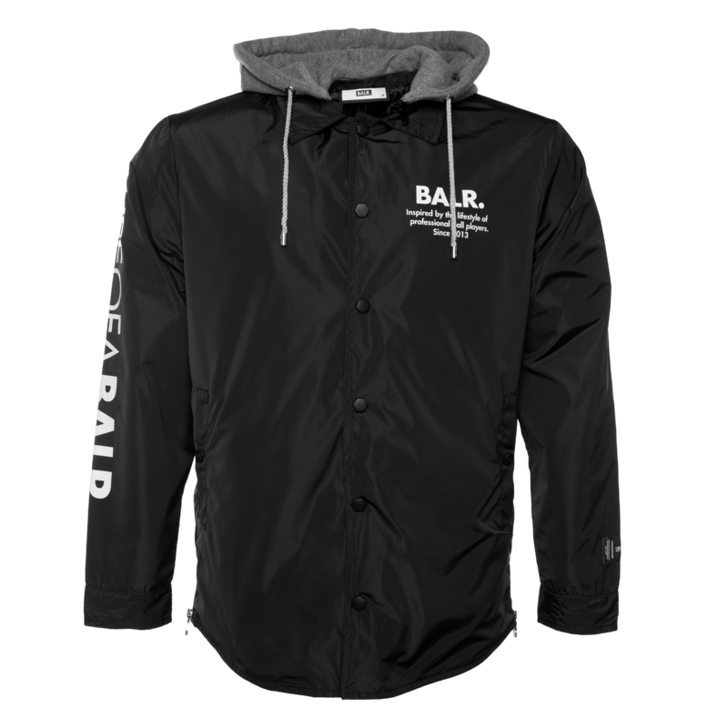 BALR. LOAB hooded coach jacket Black