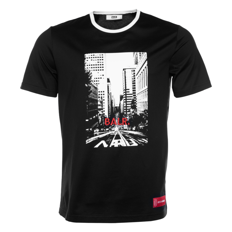 BALR. City Life T-shirt Black