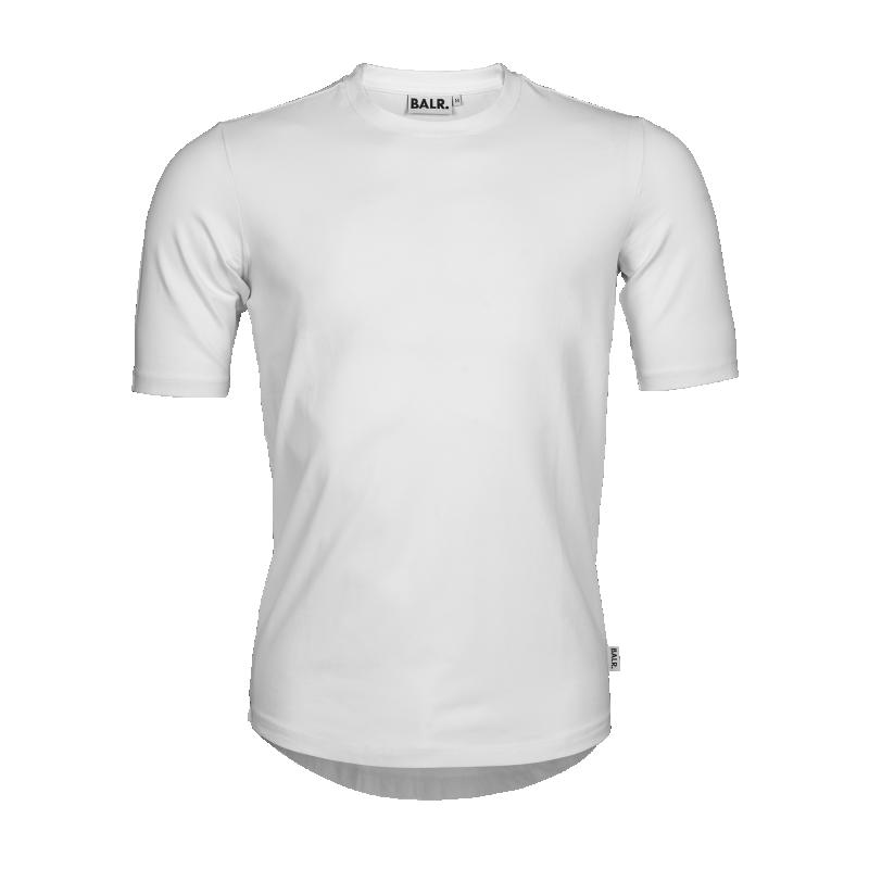 White BALR. 10 Shirt Front