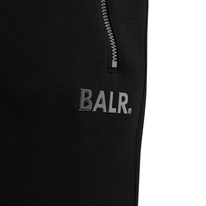 BALR. Q-Series Sweat Shorts Renewed Black Detail
