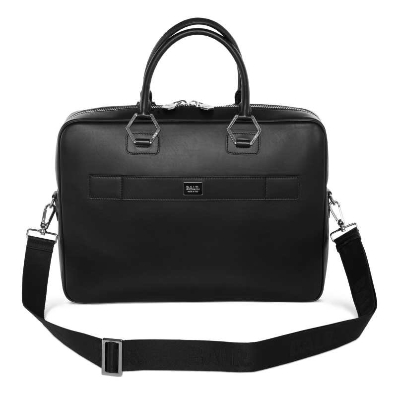 BALR. Leather Men's Bag Voorkant