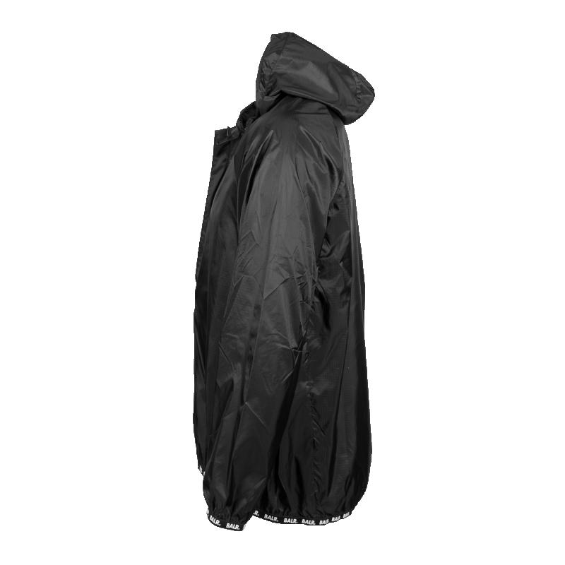 Nylon Windbreaker Black Side