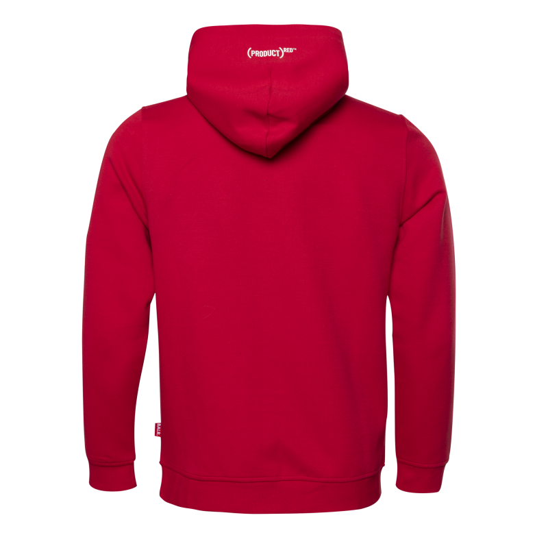 BALR. (BALR.)RED Q-Series Zipped Hoodie Red Back
