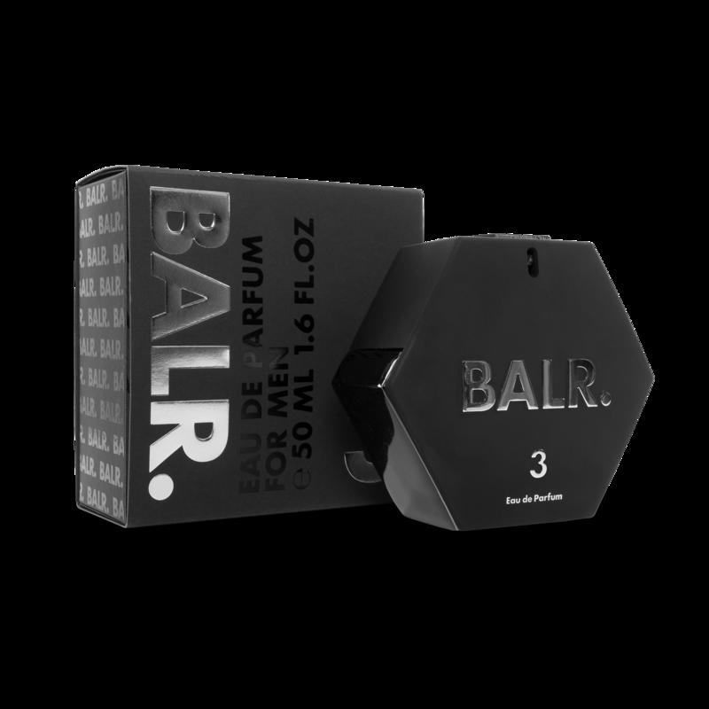 BALR. 3 Eau de Parfum Mannen verpakking met product