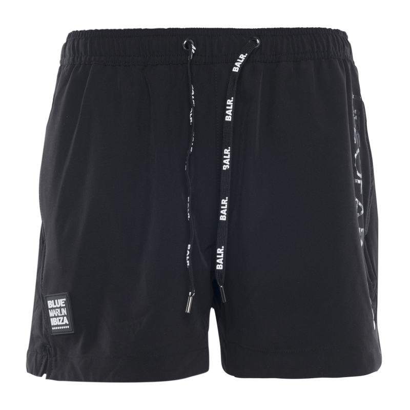 BALR. x BMI Swim Shorts Black