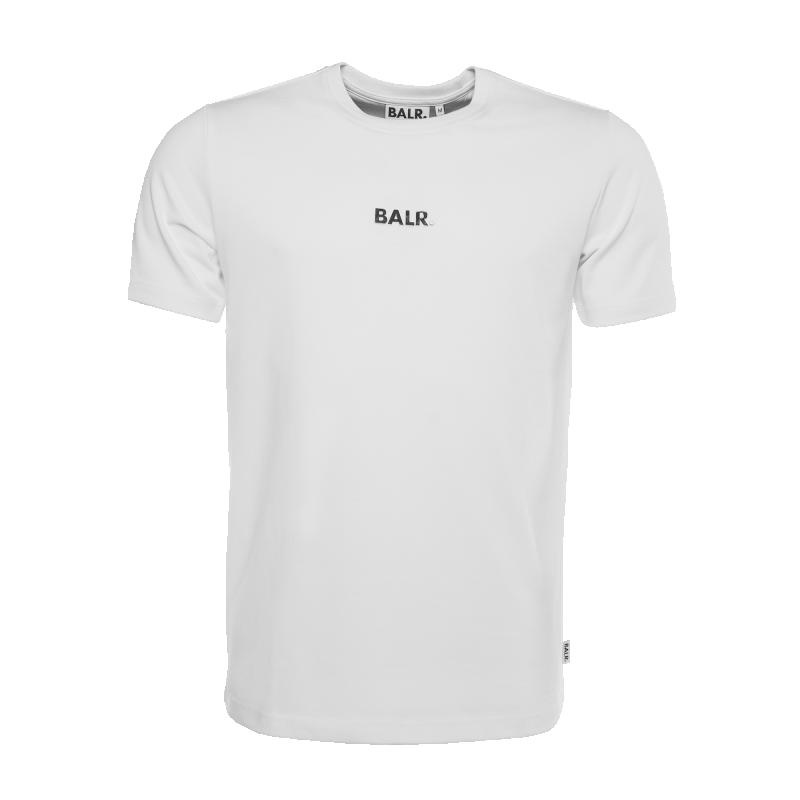 White Basic Shirt Front