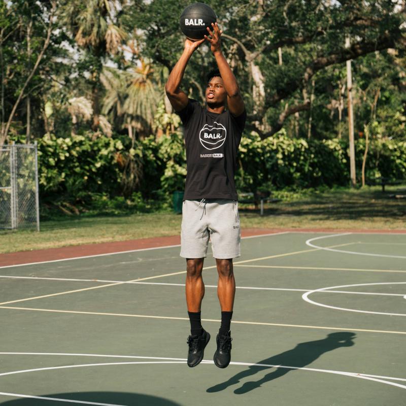 BALR. Q-Series Sweat Shorts Renewed Grey Lifestyle