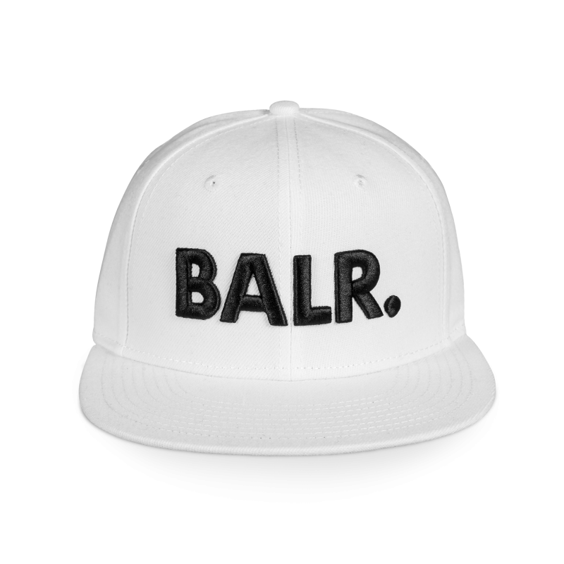 Brand Cotton Cap White