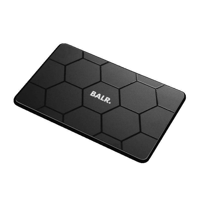 BALR. Boxed Gift Card - Black