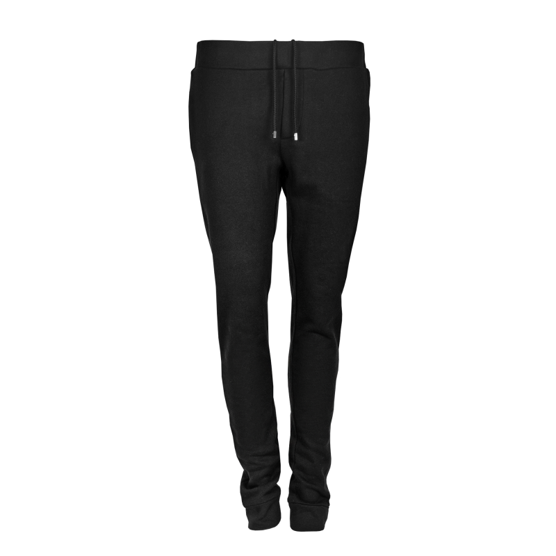 Zipped Sweatpants Black