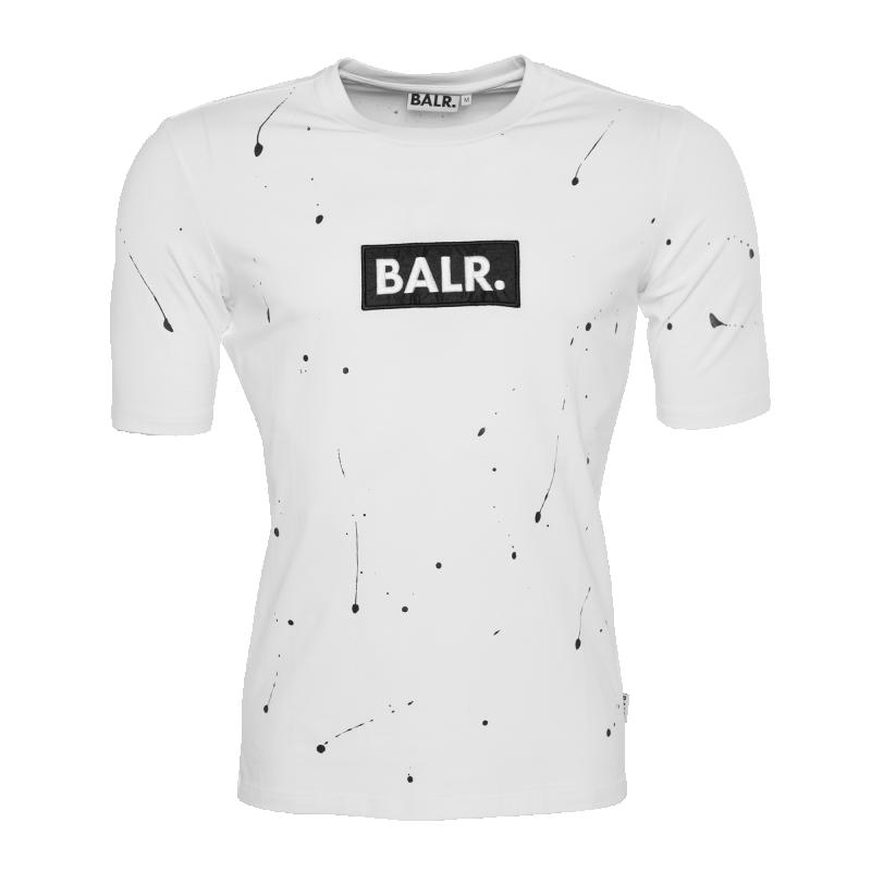 Paint Splatter T-Shirt White