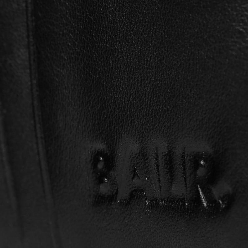 Passport Cover Black Detail
